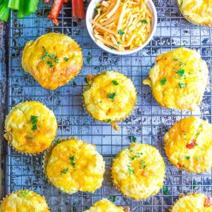 Low Carb Cheese Muffins