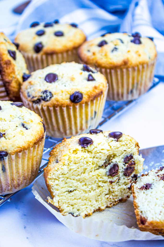 Look at the texture in our low carb Muffins