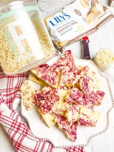 White Chocolate Peppermint Bark