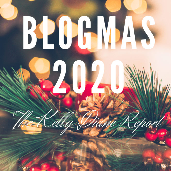 Blogmas 2020 logo, Favourite Christmas Songs