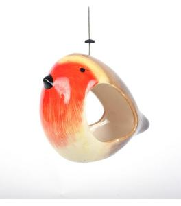 Quirky Gift Ceramic Bird Feeder