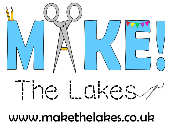 Make! The Lakes Logo including website address.