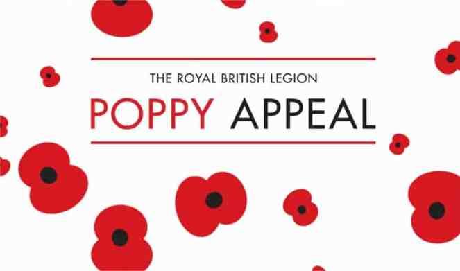 The Royal British Legion Poppy Appeal logo
