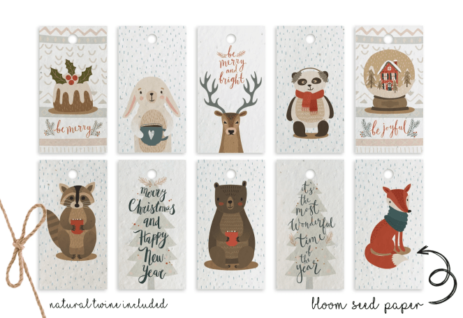 Ways to be more sustainable this christmas - sustainable christmas cards