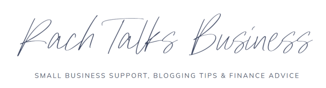 March Advertisers Rach Talks Business Blog Logo