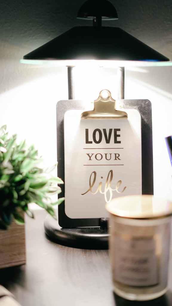 love your life clipboard decor introducing flame game candle company
