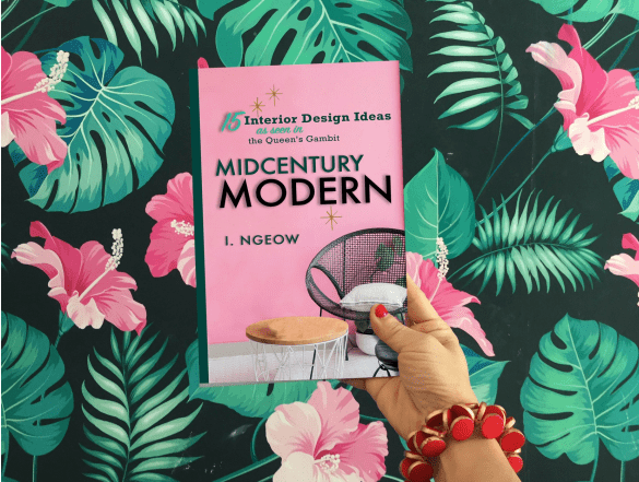 Midcentury Modern Book Cover