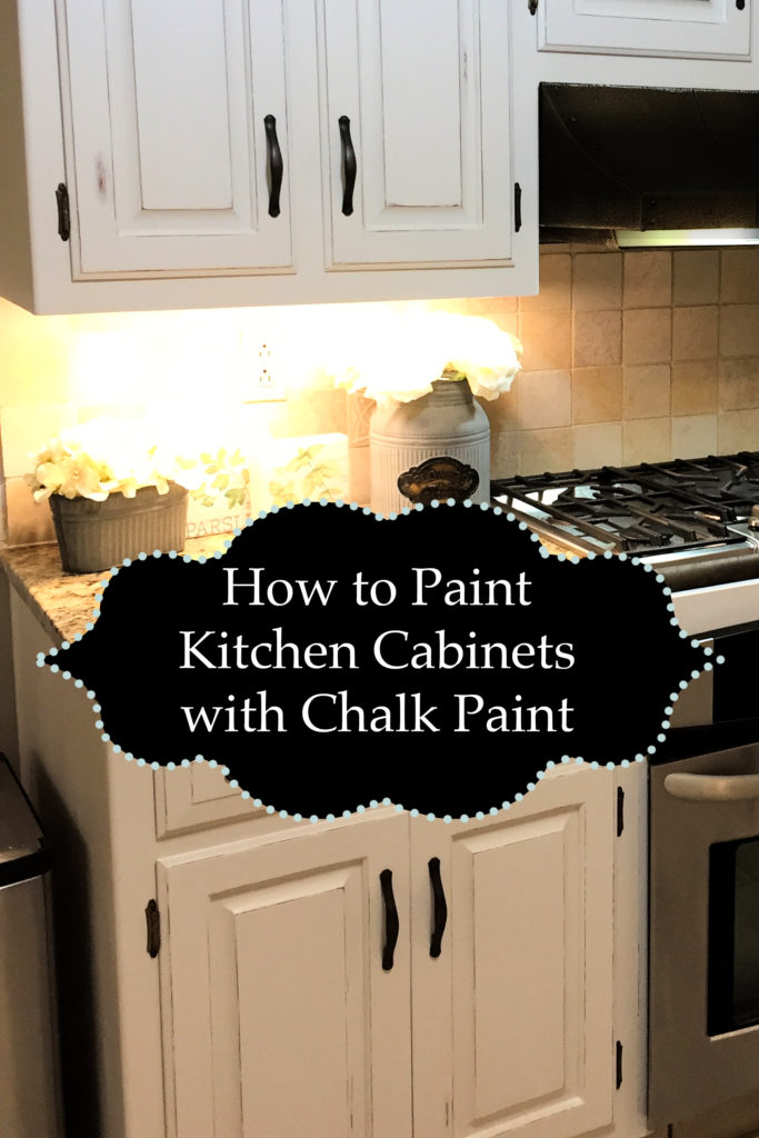 Painting Kitchen Cabinets With Chalk Paint  The Kelly