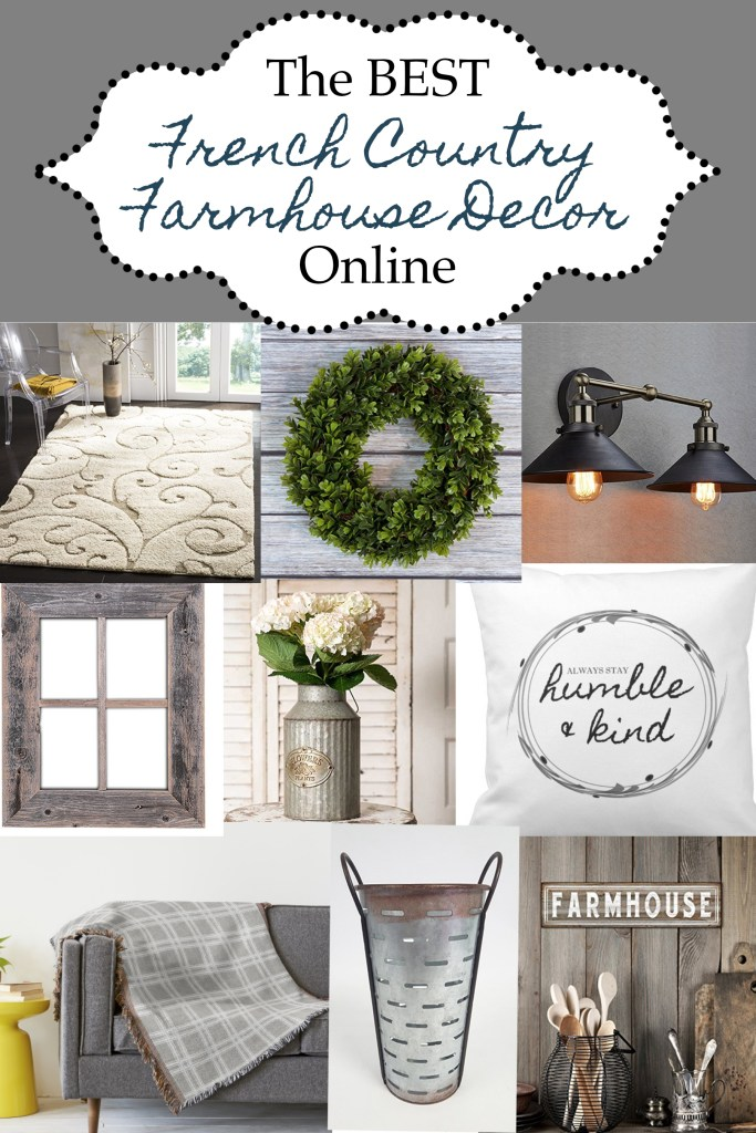 Best French Country Farmhouse Decor Online