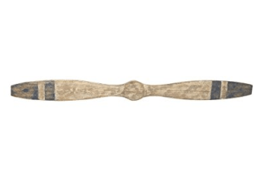 Deco 79 Wood Airplane Prop, 47 by 4-Inch