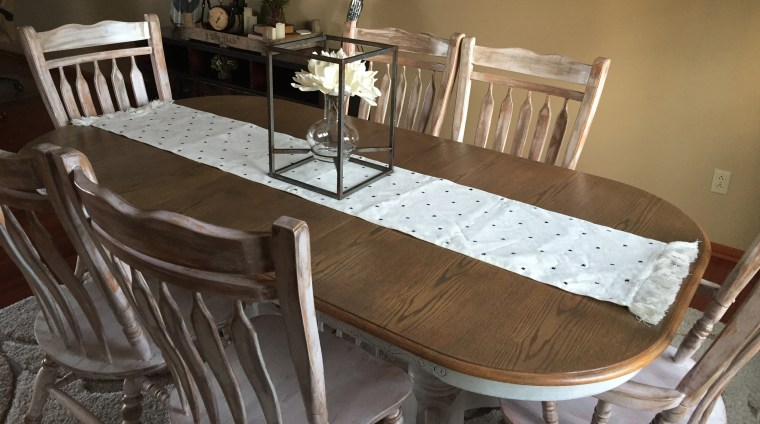 top coat kitchen table Archives - The Kelly Homestead