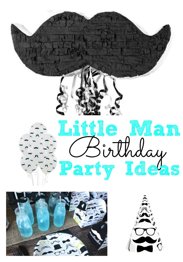 Little Man Birthday Party Ideas for Boys  The Kennedy