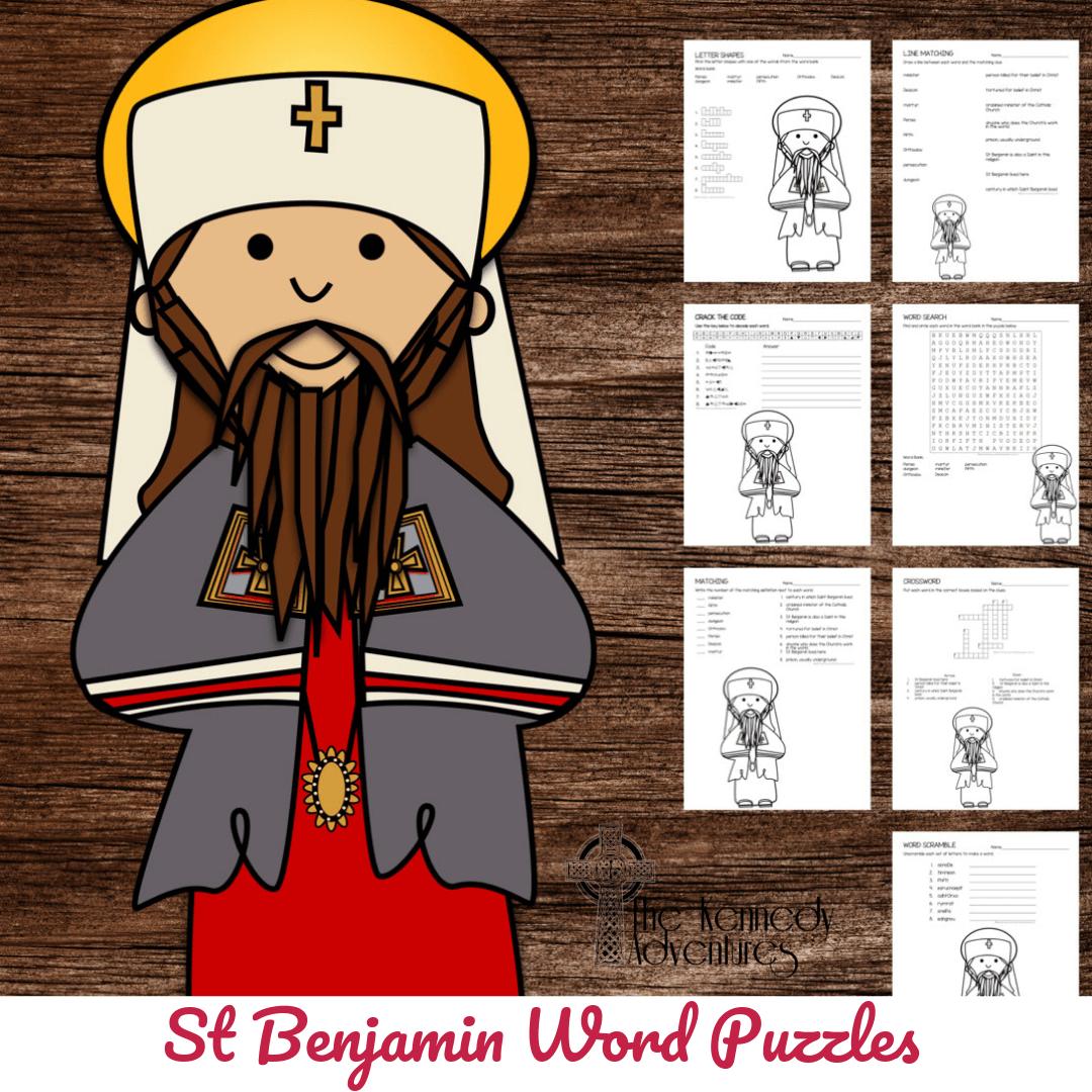 St Benjamin Word Puzzles