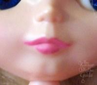 large lips close up