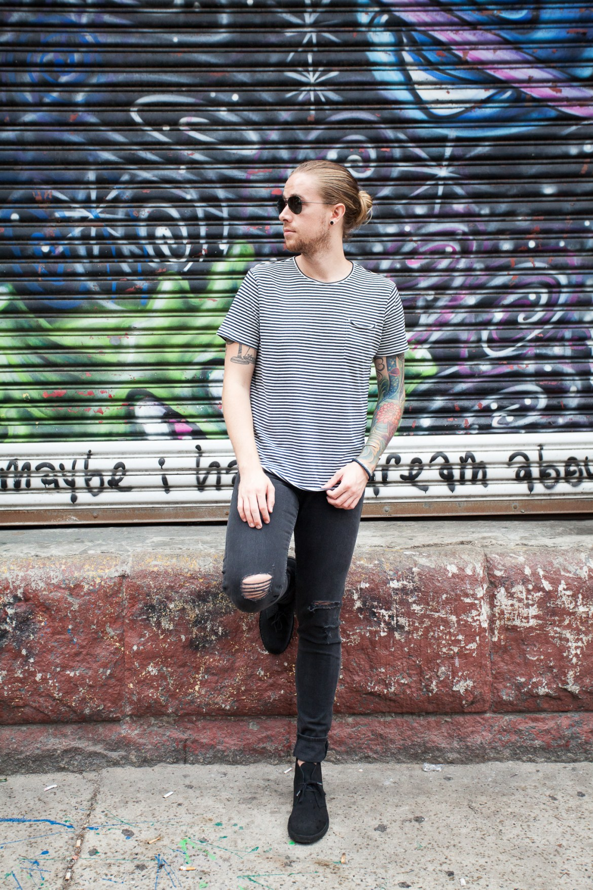 how to wear grey jeans, how to wear a striped t-shirt, why to buy rag & bone jeans, best designer denim, new fall boots