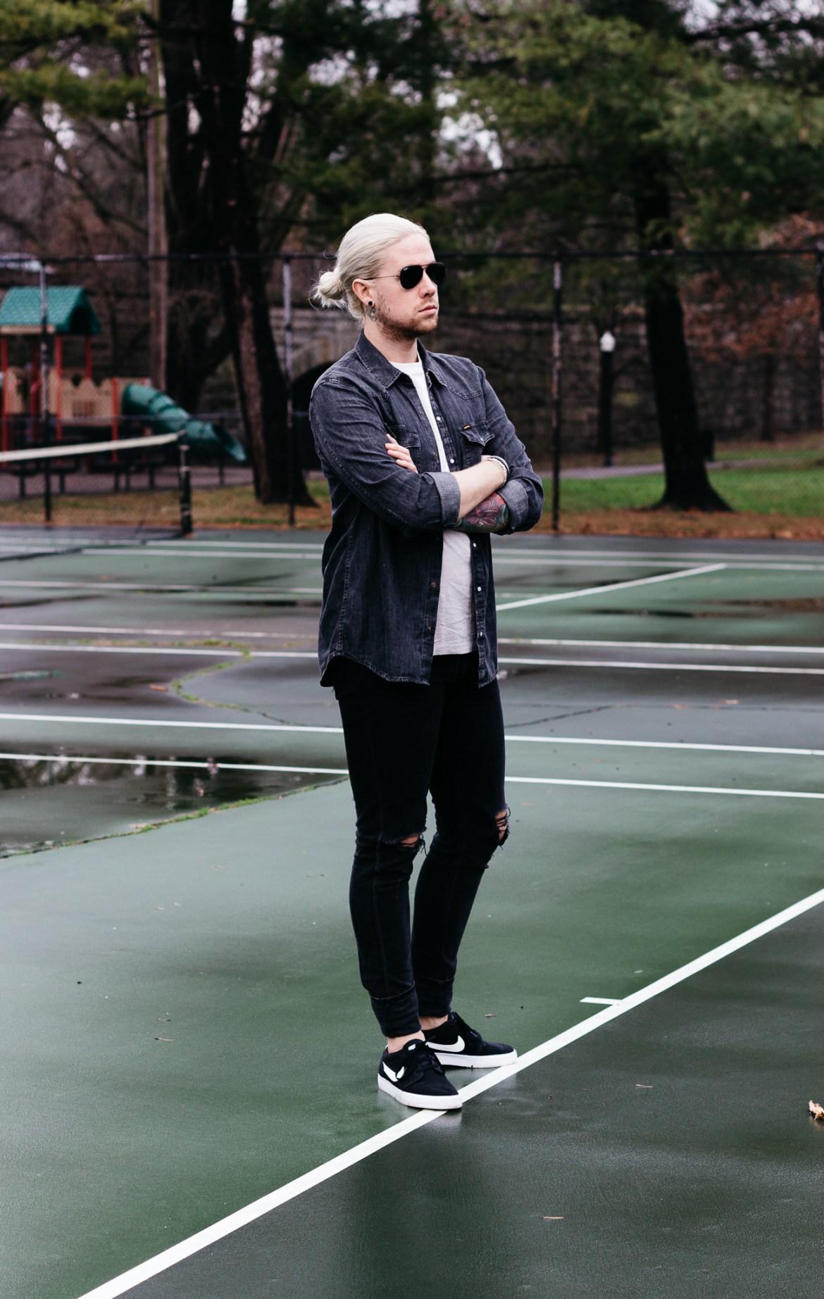 big star, obey, mens fashion blog, mens denim shirt, rag & bone denim