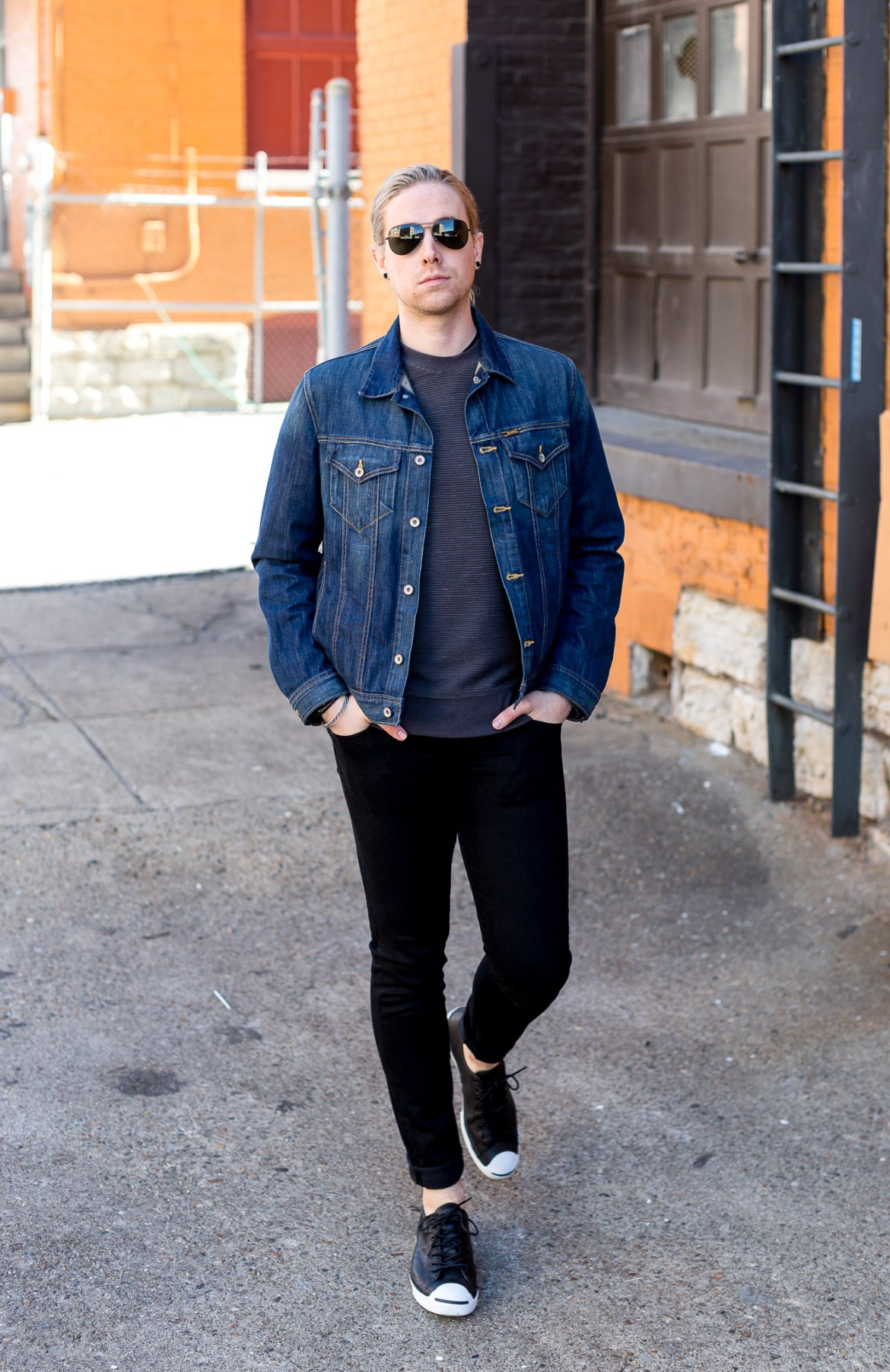 big star denim, mens fashion blogger, mens denim jacket, rag and bone jeans, kentucky fashion blogger