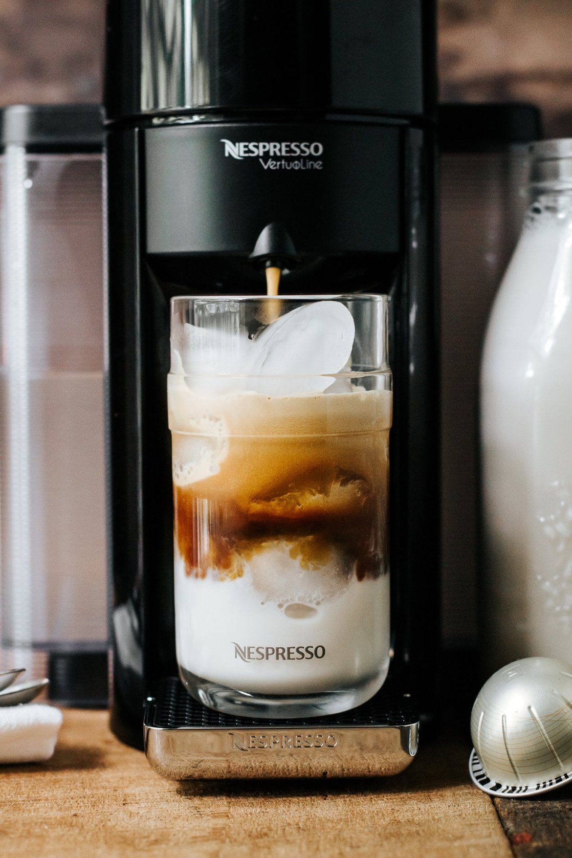 nepresso, iced coffee, how to make iced coffee at home, lifestyle blog, coffee blog