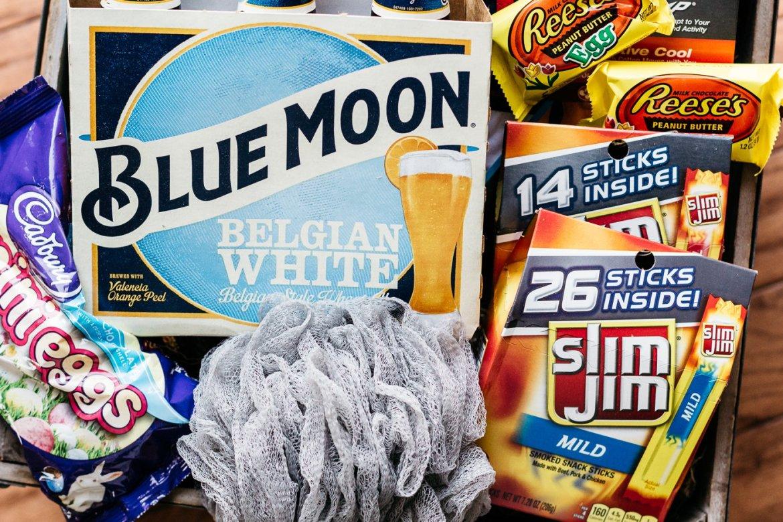 bold easter basket ideas, easter basket ideas for men, slim jim bold easter baskets, mens lifestyle blog, the kentucky gent