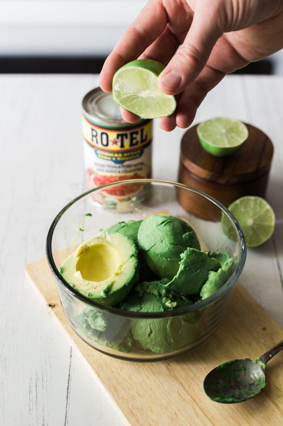 spicy guacamole recipe, guacamole recipe, lifestyle blog, memorial day party tips, recipes with RO*TEL