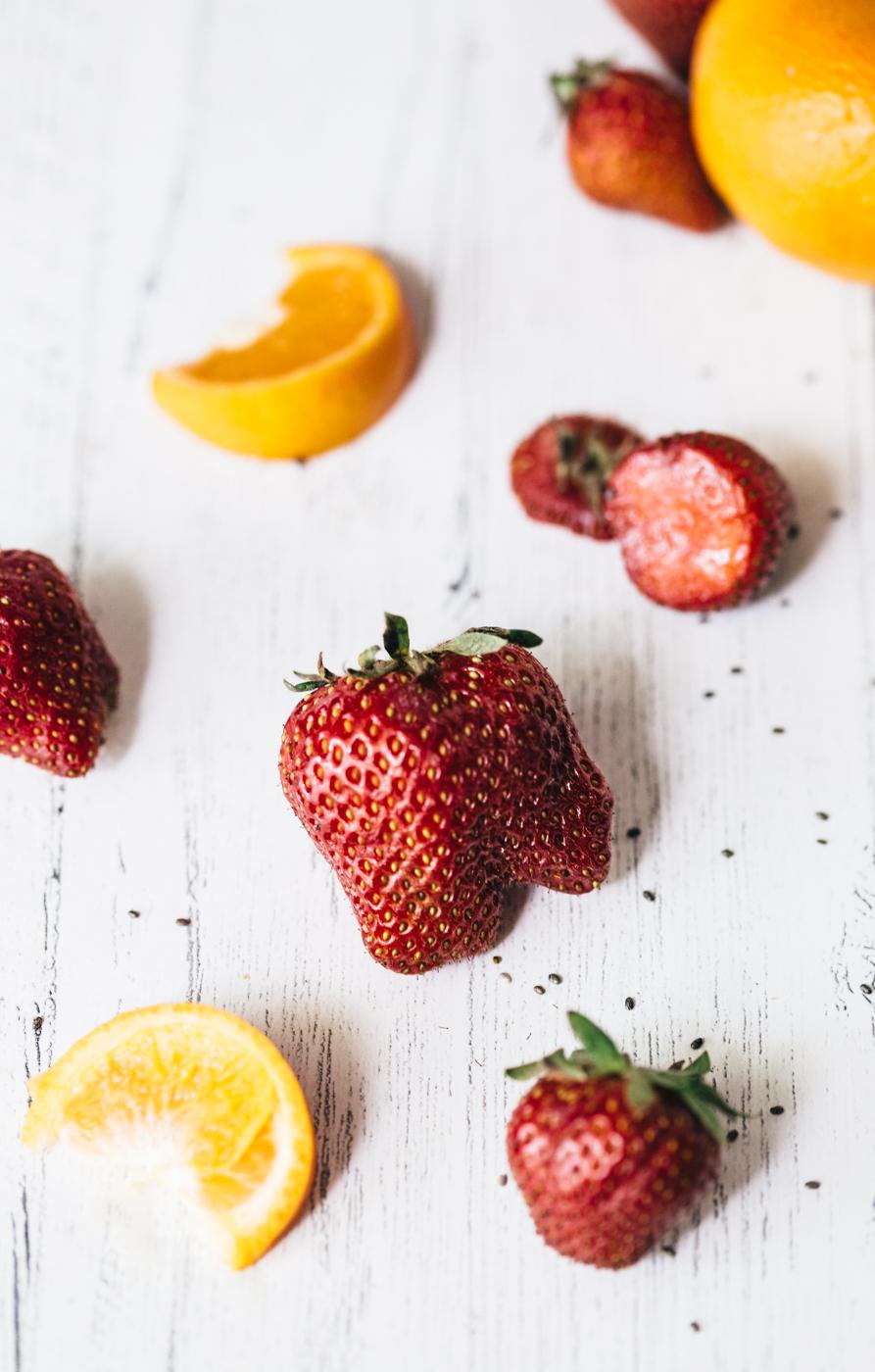 strawberry orange chia jam, homemade strawberry jam, homemade jam, how to make jam, lifestyle blog