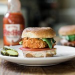 Crab Cake Sliders with Franks Red Hot Sauce