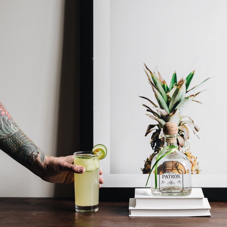 Tan Fresco Tan Verde, Patron Cocktail Recipe