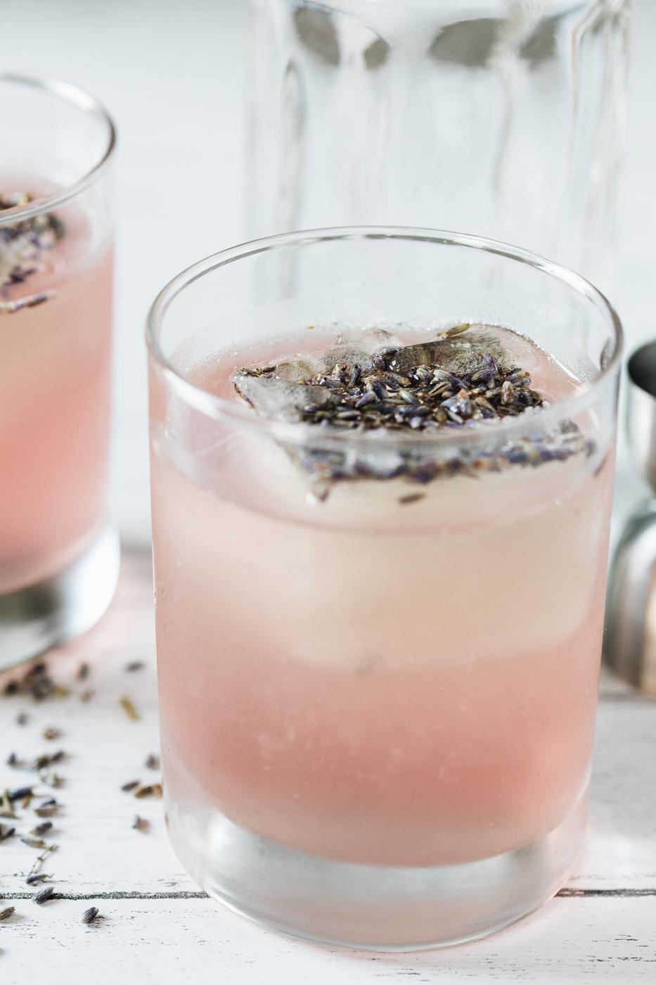 vodka cocktails, finlandia vodka, lavender simple syrup, lavender cocktails, the kentucky gent