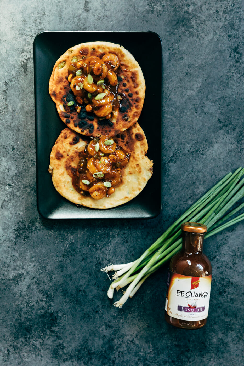 P.F. Chang's® Home Menu Kung Pao Shrimp Tacos