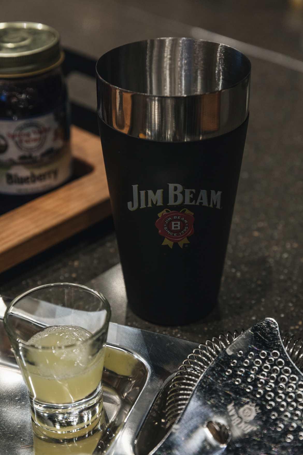 jim beam cocktail shaker