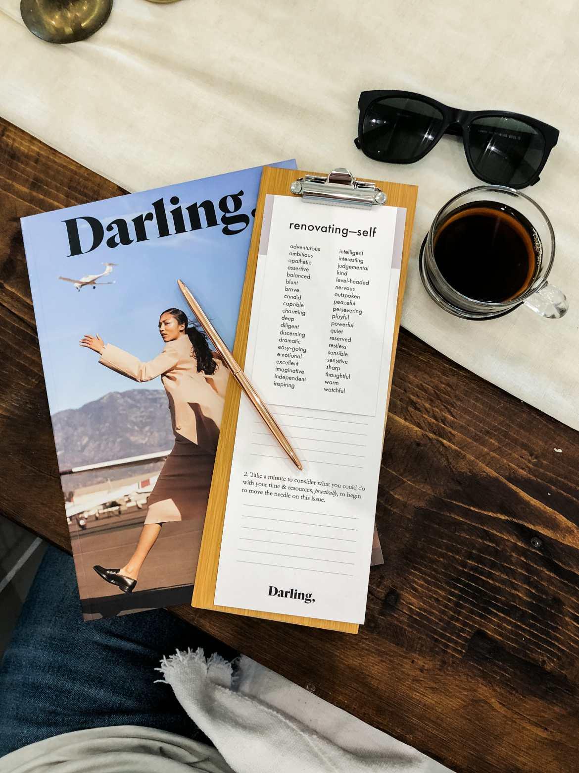 darling magazine workshop