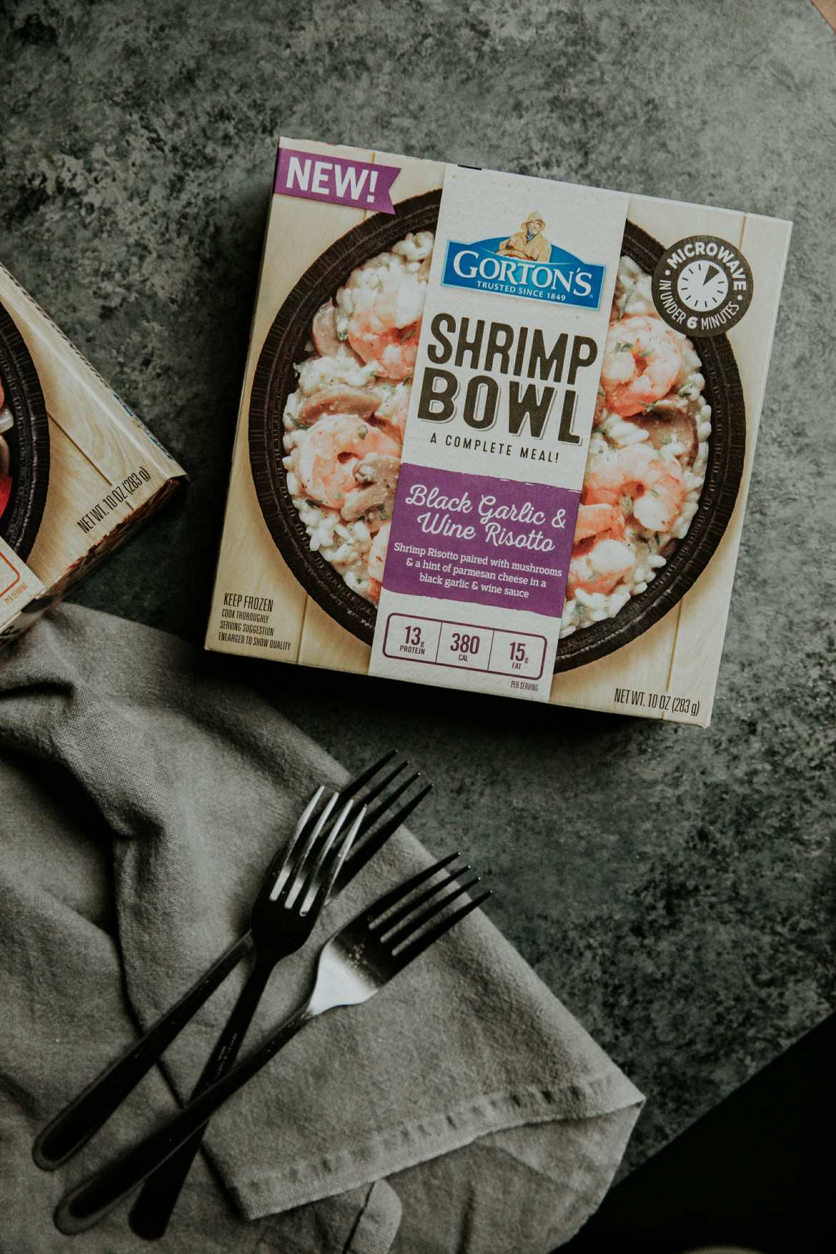 gorton's seafood shrimp bowls