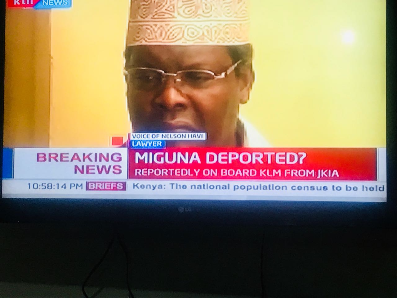 BREAKING: Miguna Miguna deported to Canada