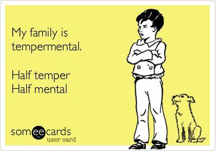 tempermental family