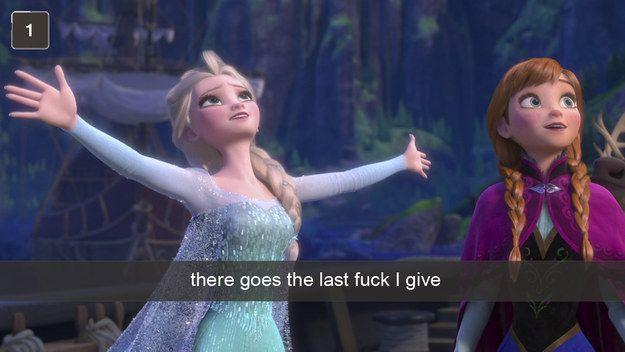 last fuck given Elsa