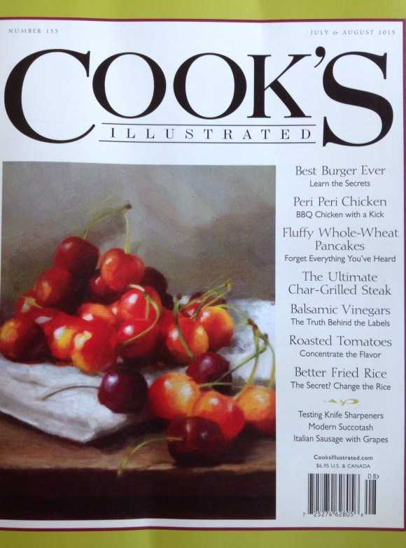 Cook's Illustrated Magazine. So much more than a magazine, it's a way of life. Without CI, I would have been lost in my quest for a pressure cooker, to say the least!