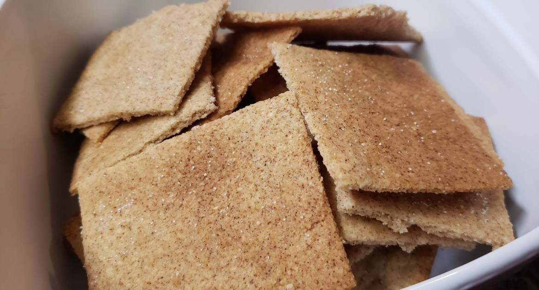 Low Carb Keto Graham Crackers