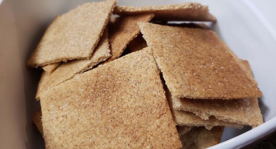 Low Carb Keto Graham Crackers