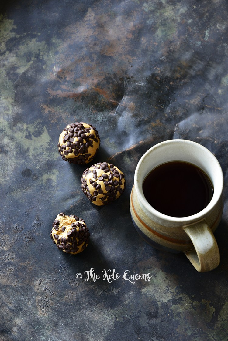 Our3-Ingredient Chocolate Peanut Butter Protein Bites only take minutes to make! Our energy bites are gluten free, grain-free and keto friendly! They taste so good, your kids will love them too!