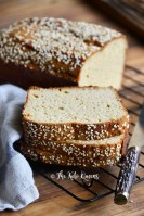 Close Up of The Best Keto Bread Recipe