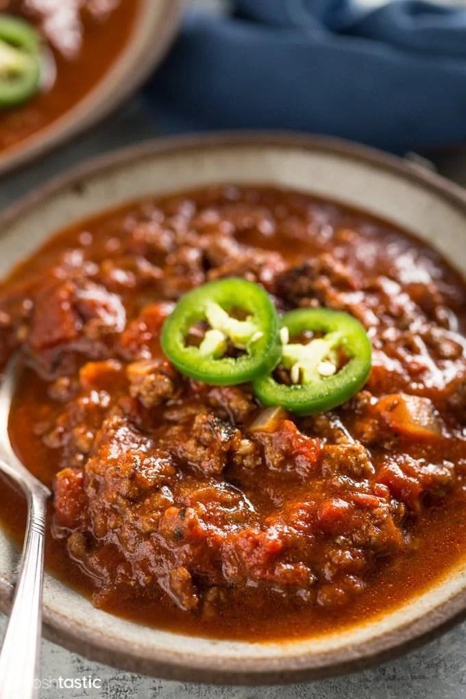 keto beef chili recipe
