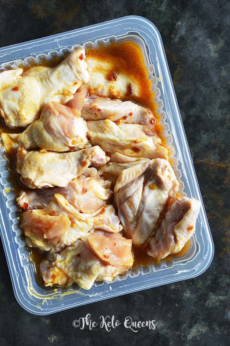 Marinating Chicken Wings