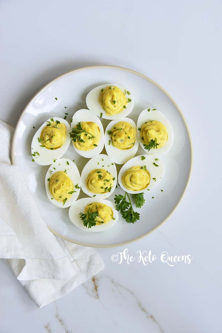 Instant Pot Deviled Eggs with Relish. Before making hard boiled eggs in the Instant Pot, I would lose half of the eggs in the shell, but not anymore.