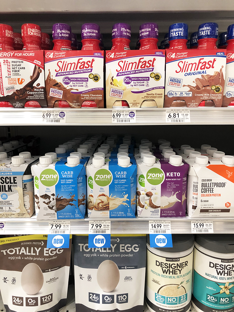 ZonePerfect on Shelf at Publix