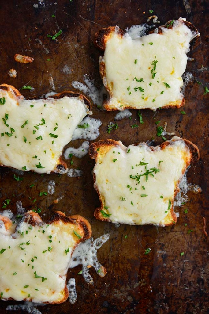 low carb Texas toast on a cookie sheet