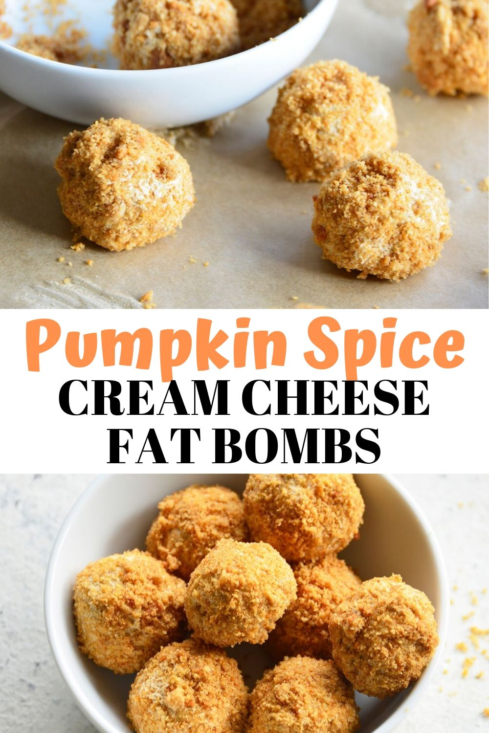 You'll think you're indulging in a decadent pumpkin spice cheesecake with these Keto PumpkinSpice Cream Cheese Fat Bombs! They're easy to whip up and perfect for stashing in the fridgeany time a sweet tooth strikes, or to help you stay on-point with your macros and fat intake.