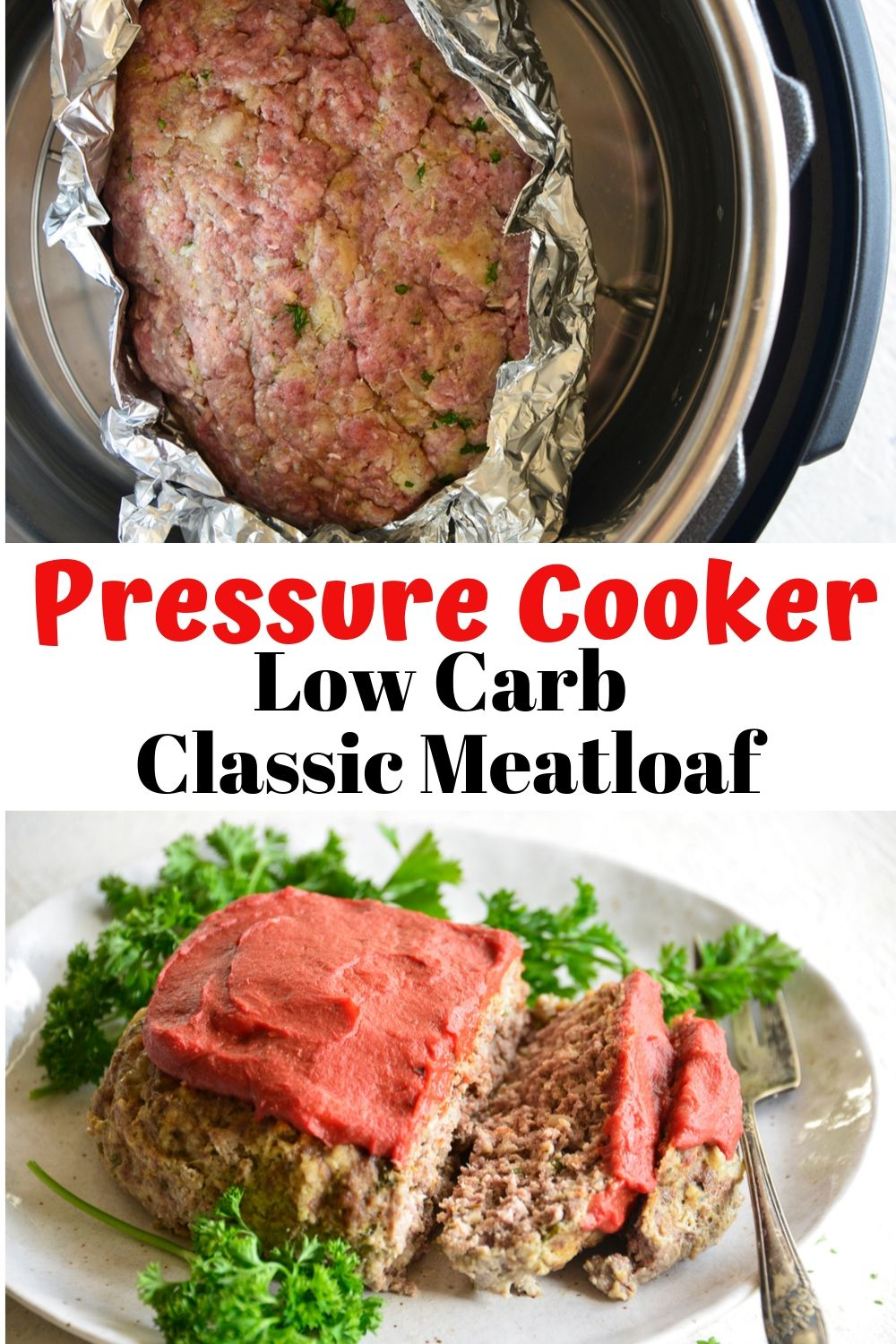 Classic Pressure Cooker Meatloaf. We've brought you a traditional, down home comfort food that is keto friendly AND gluten free.