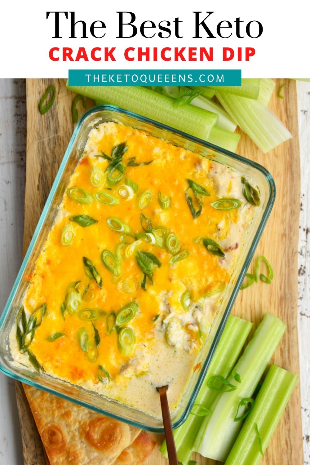 Crack Chicken Dip transforms everyone's favorite creamy, flavorful Crack Chicken that into an easy appetizer!