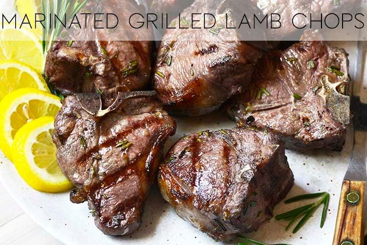 lamb chops recipe with description