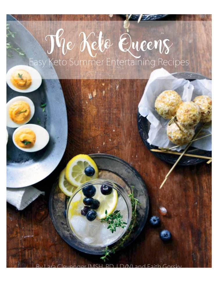 Easy Keto Summer Entertaining Recipes Ebook